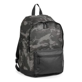 Personalised 600D Backpack - Grey